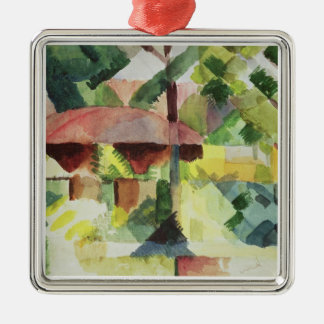 The Garden, 1914 (w/c on paper) Metal Ornament