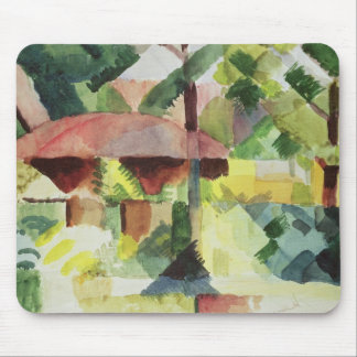 The Garden, 1914 (w/c on paper) Mouse Pad