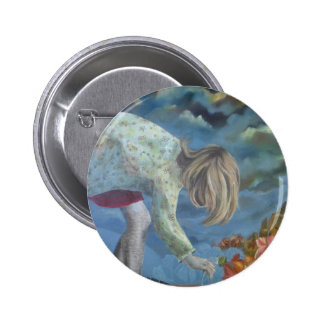 'The Garden (after the rain)' Buttons