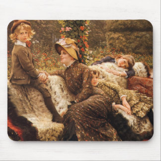 The Garden Bench Mouse Pad