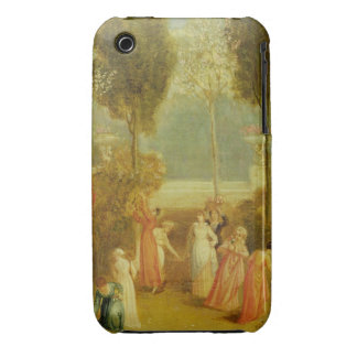 The Garden, c.1820 (oil on panel) Case-Mate iPhone 3 Case