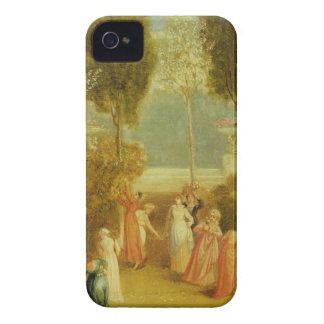 The Garden, c.1820 (oil on panel) iPhone 4 Case