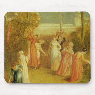 The Garden, c.1820 (oil on panel) Mouse Pad
