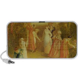 The Garden, c.1820 (oil on panel) Notebook Speaker
