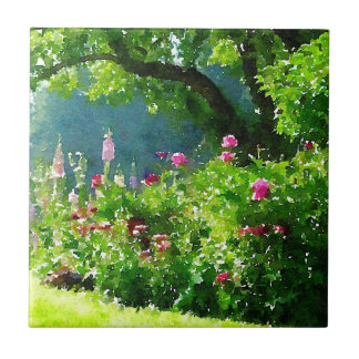 The Garden Ceramic Tile