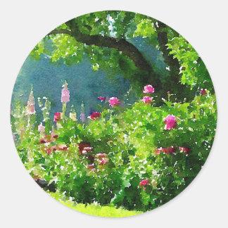 The Garden Classic Round Sticker