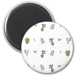 The Garden Collection 2 Inch Round Magnet