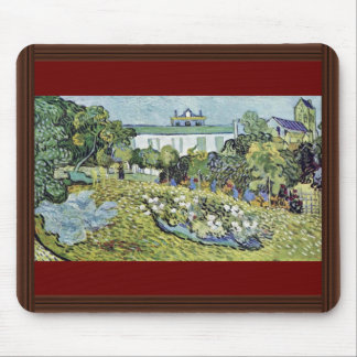 The Garden Daubigny By Vincent Van Gogh Mouse Pad