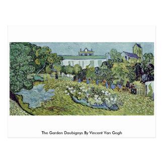The Garden Daubignys By Vincent Van Gogh Postcard