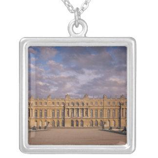 The Garden Facade Square Pendant Necklace