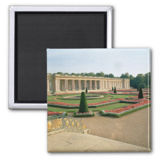 The Garden Facade of the Grand Trianon, 1687 (phot 2 Inch Square Magnet