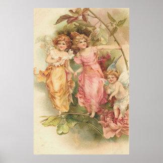 The Garden Fairies Poster