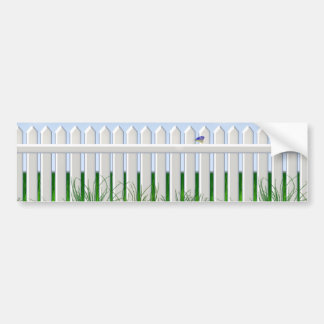 The Garden Fence Bumper Sticker
