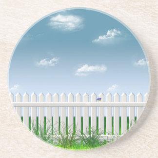 The Garden Fence Coaster