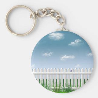 The Garden Fence Keychain