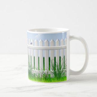 The Garden Fence Coffee Mug