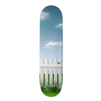 The Garden Fence Skateboard Deck