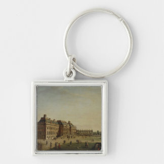 The garden front of the town castle, 1773 keychain