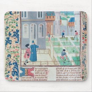 The Garden, illustration from 'Le Livre des' Mousepads