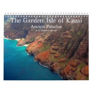 The Garden Isle of Kauai Ancient Paradise Calendar
