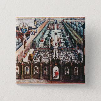 The Garden of Burgermeister Schwind Pinback Button