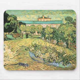 The garden of Daubigny by Vincent van Gogh Mouse Pad