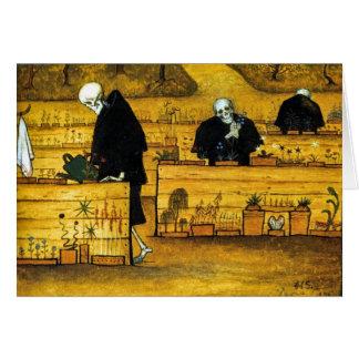 The Garden of Death by Hugo Simberg 1896 Card