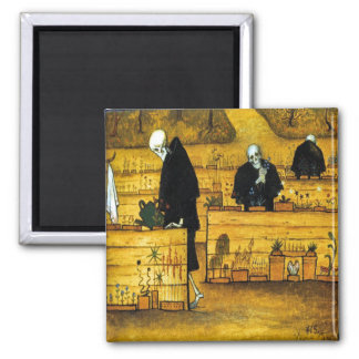 The Garden of Death by Hugo Simberg 1896 Magnet