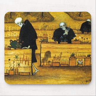The Garden of Death by Hugo Simberg 1896 Mouse Pad