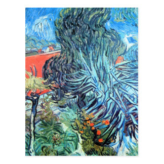 The garden of Dr. Gachet by Vincent van Gogh Post Cards