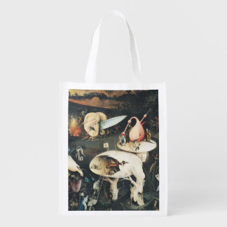 The Garden of Earthly Delights 2 2 Reusable Grocery Bag