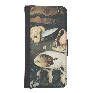 The Garden of Earthly Delights 2 2 Wallet Phone Case For iPhone SE/5/5s