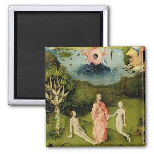 The Garden of Earthly Delights 2 Fridge Magnets