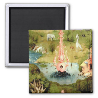 The Garden of Earthly Delights 2 Inch Square Magnet