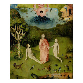 Garden Of Earthly Delights Posters Zazzle