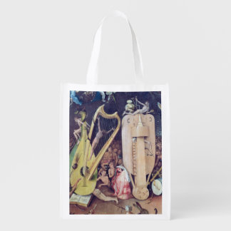 The Garden of Earthly Delights 2 Reusable Grocery Bag