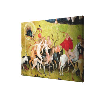 The Garden of Earthly Delights: Allegory of Canvas Print