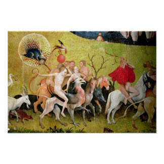 The Garden of Earthly Delights: Allegory of Poster