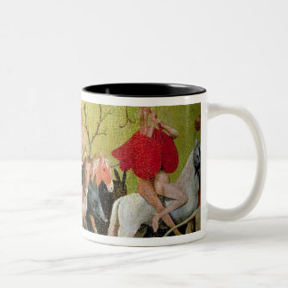 The Garden of Earthly Delights: Allegory of Two-Tone Coffee Mug