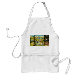 The Garden of Earthly Delights by Hieronymus Bosch Adult Apron