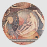 The Garden Of Earthly Delights: By Hieronymus Round Sticker