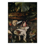 The Garden of Earthly Delights, Hell Cards