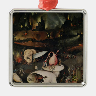 The Garden of Earthly Delights, Hell Metal Ornament