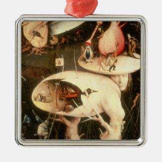 The Garden of Earthly Delights: Hell Metal Ornament