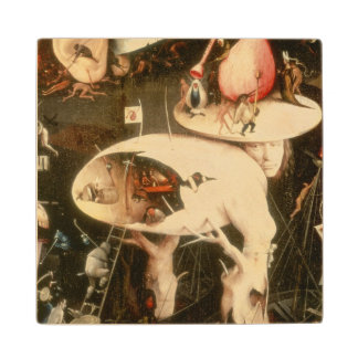 The Garden of Earthly Delights Hell Wood Coaster