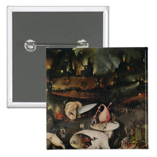 The Garden of Earthly Delights, Hell Pinback Button