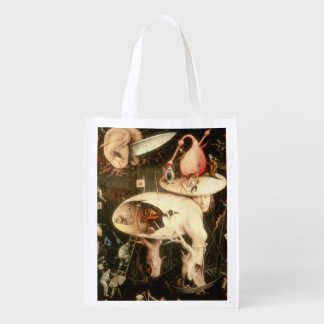 The Garden of Earthly Delights: Hell Reusable Grocery Bag