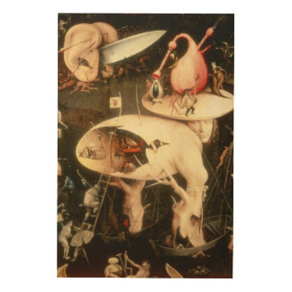 The Garden of Earthly Delights: Hell Wood Print