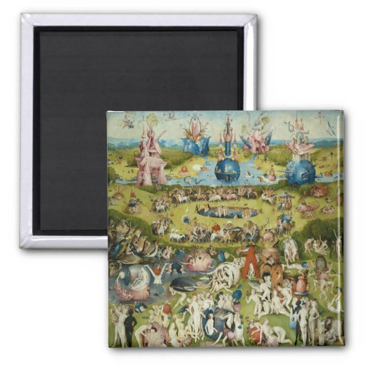 The Garden of Earthly Delights, Hieronymus Bosch Fridge Magnets