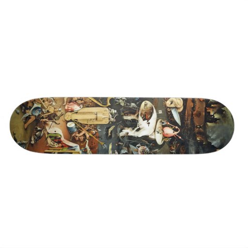 The Garden of Earthly Delights, Hieronymus Bosch Skateboard